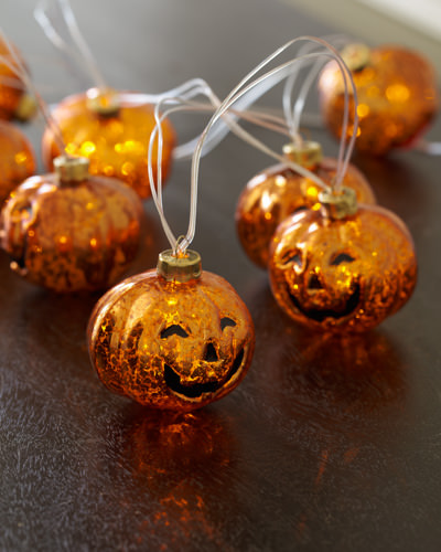Balsam Hill's Glass Pumpkin String Lights