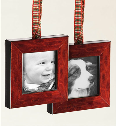Balsam Hill's Keepsake Photo Ornaments
