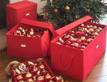 Balsam Hill's Ornament Storage Box