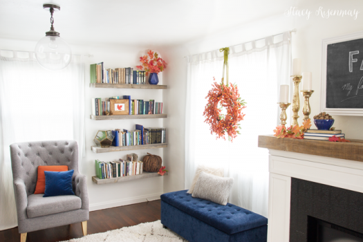 Add life to any space with textured accents and fall colors  