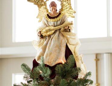 Balsam Hill's Noel Angel Christmas Tree Topper