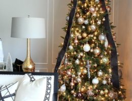 choose the best spot to display your Christmas tree
