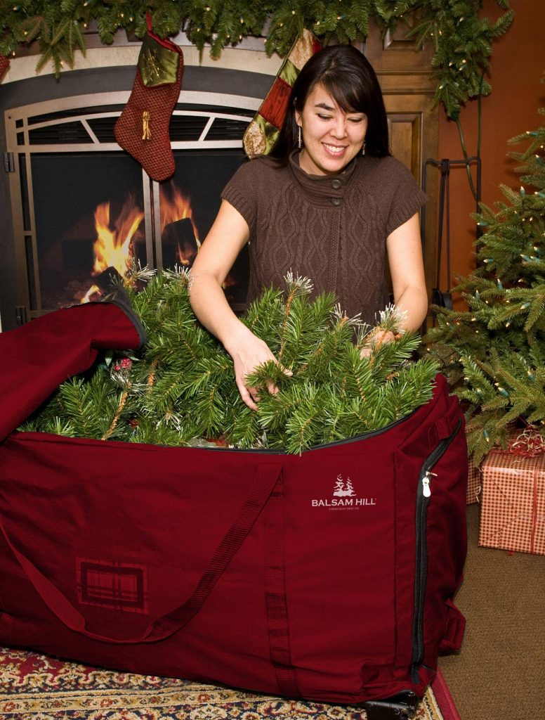 Spacious tree bags from Balsam Hill
