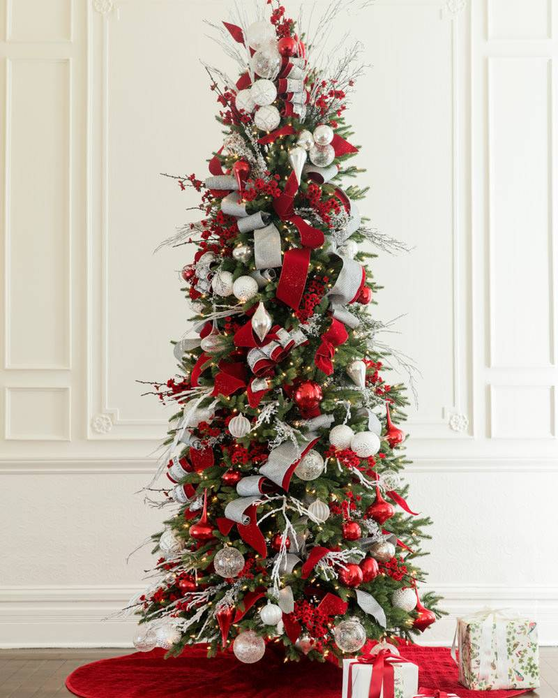 Tall Skinny Christmas Tree Decorating Ideas.7 Advantages Of Slim Christmas Trees Balsam Hill Blog