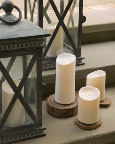 Our Miracle Flame Outdoor Battery-Operated Candles