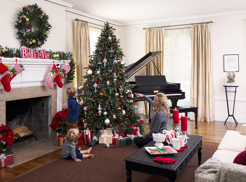Lifelike Artificial Christmas Trees