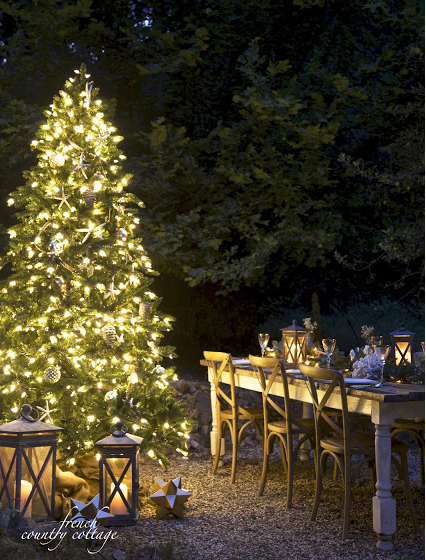 Beautiful outdoor decor from French Country Cottage