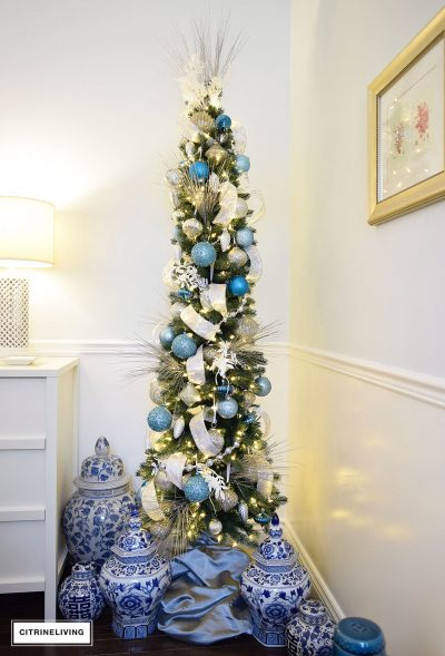 Decorating A Small Christmas Tree Ideas