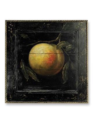 Peach Wood Painting