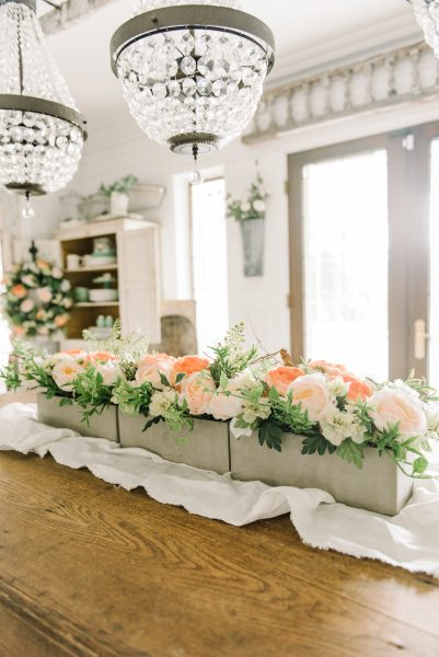 spring decorating tips add spring florals to your table