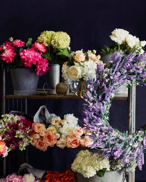 Spring Wreaths and Florals