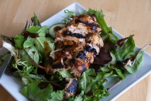 Grilled Chicken Salad for Memorial Day
