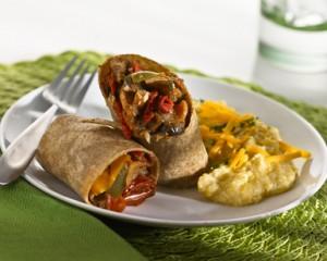 Balsam Hill Grilled Veggie Burrito