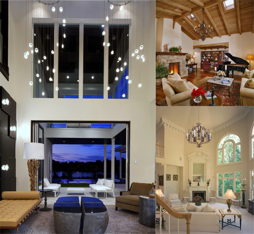 Working With Tall Ceilings: 5 Design Ideas For High Ceilings Balsam Hill Artificial