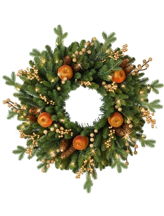 Balsam Hill's Regency Gate Wreath