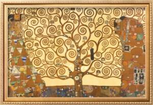paintings that inspire: Tree of Life by Gustav Klimt