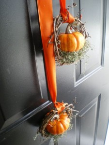 Small Pumpkin Wreaths