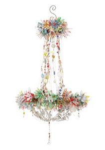 obama girls' chandelier
