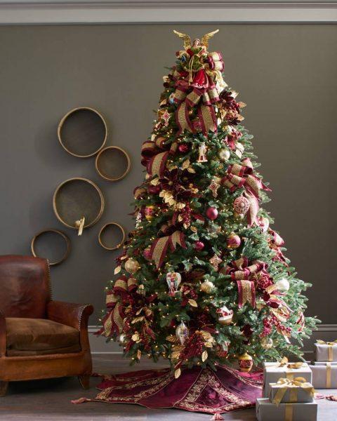 full profile christmas tree