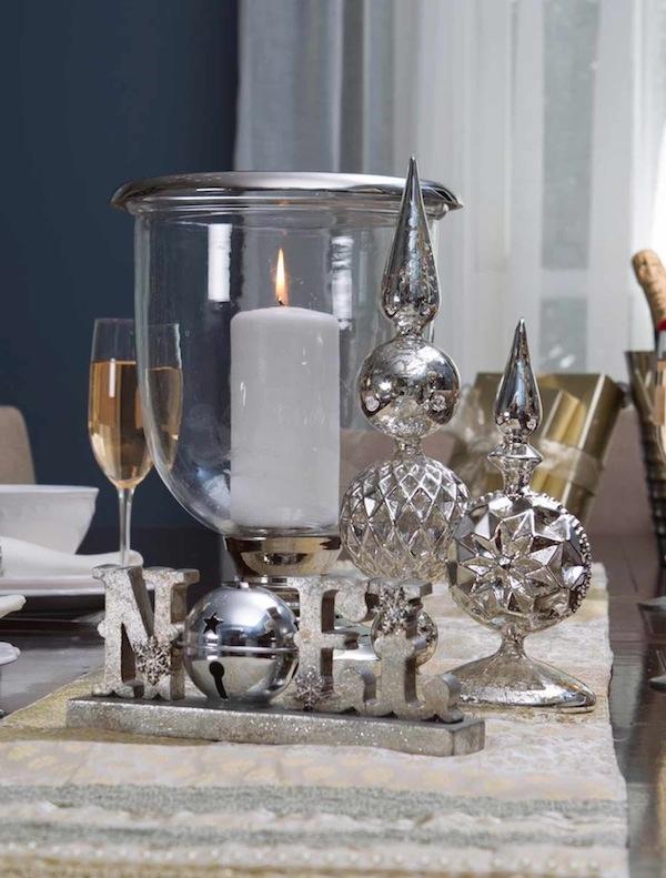 Balsam Hill's Glass Candleholder