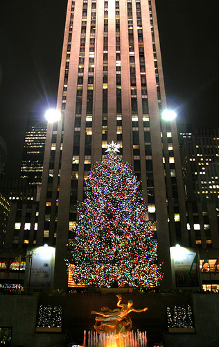 Rockefeller Center Christmas tree – New York City