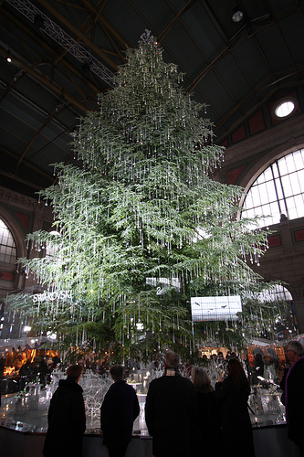Swarovski Christmas Tree in Zurich