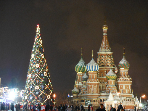 Christmas Tree – Moscow's Red Square, Russia