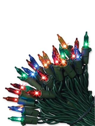 Multicolor LED Light Strings from Balsam Hill