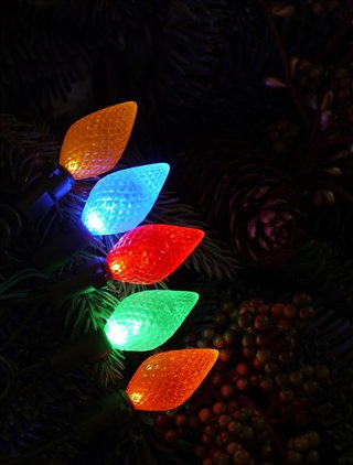 Multicolor C6 LED Lights