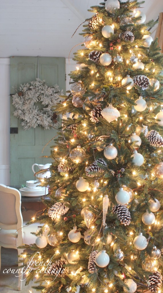 Courtney of French Country Cottage shares her holiday decorating inspiration with Balsam Hill
