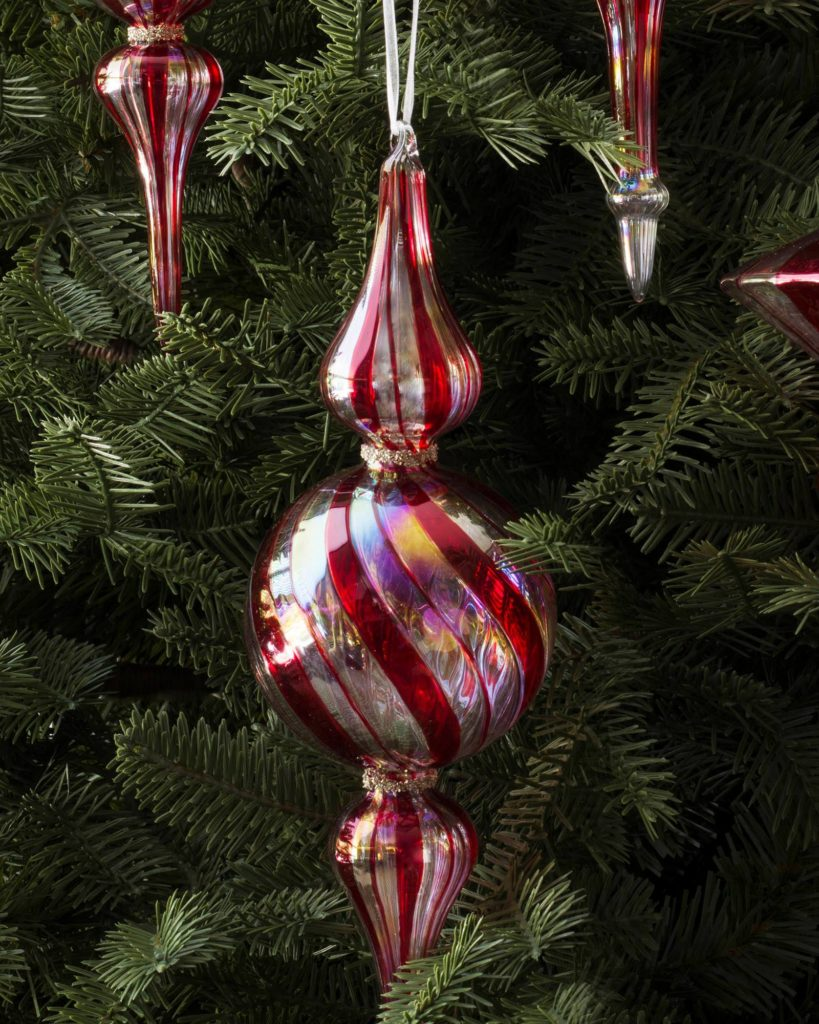Balsam Hill's Candy Cane Finials