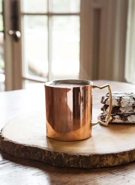 Copper Double Wall Mugs from Balsam Hill