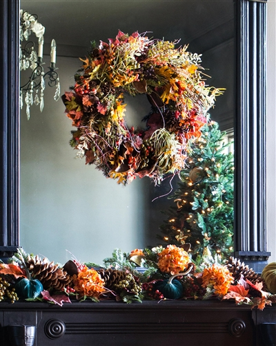 Autumn Mix Decorated Foliage by Balsam Hill