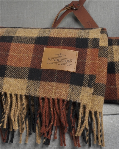 Plaid Wool Throw from Balsam Hill