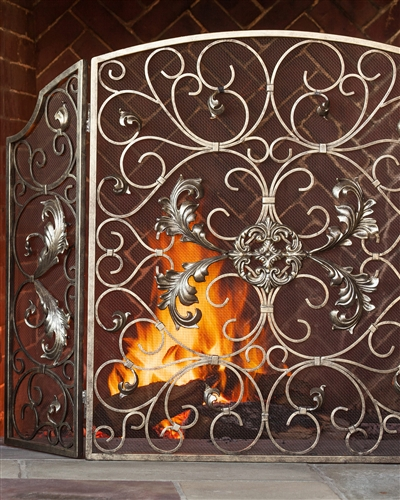 Estate Fireplace Screen from Balsam Hill