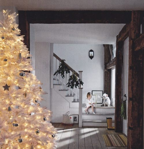 Mount Washington White Christmas tree