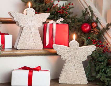 Angel Candles from Balsam Hill