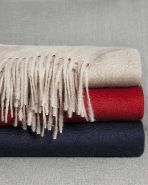 Cashmere Blend Throw