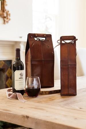 balsam hill wine carrier