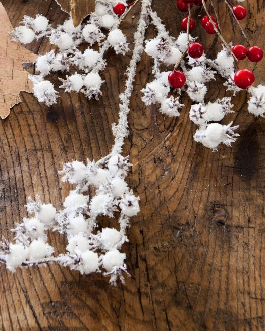 Woodland Snow Berries Floral Spray