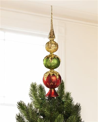 Hand Blown Glass Christmas Trees