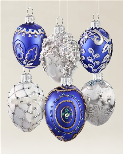Join Balsam Hill's Personality Quiz and win our Egg Blown Glass Ornament Set