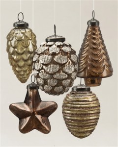 Mercury Glass Ornaments by Balsam Hill