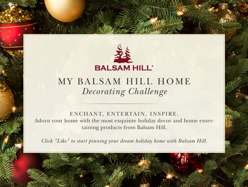 My Balsam Hill Home Decorating Challenge on Pinterest