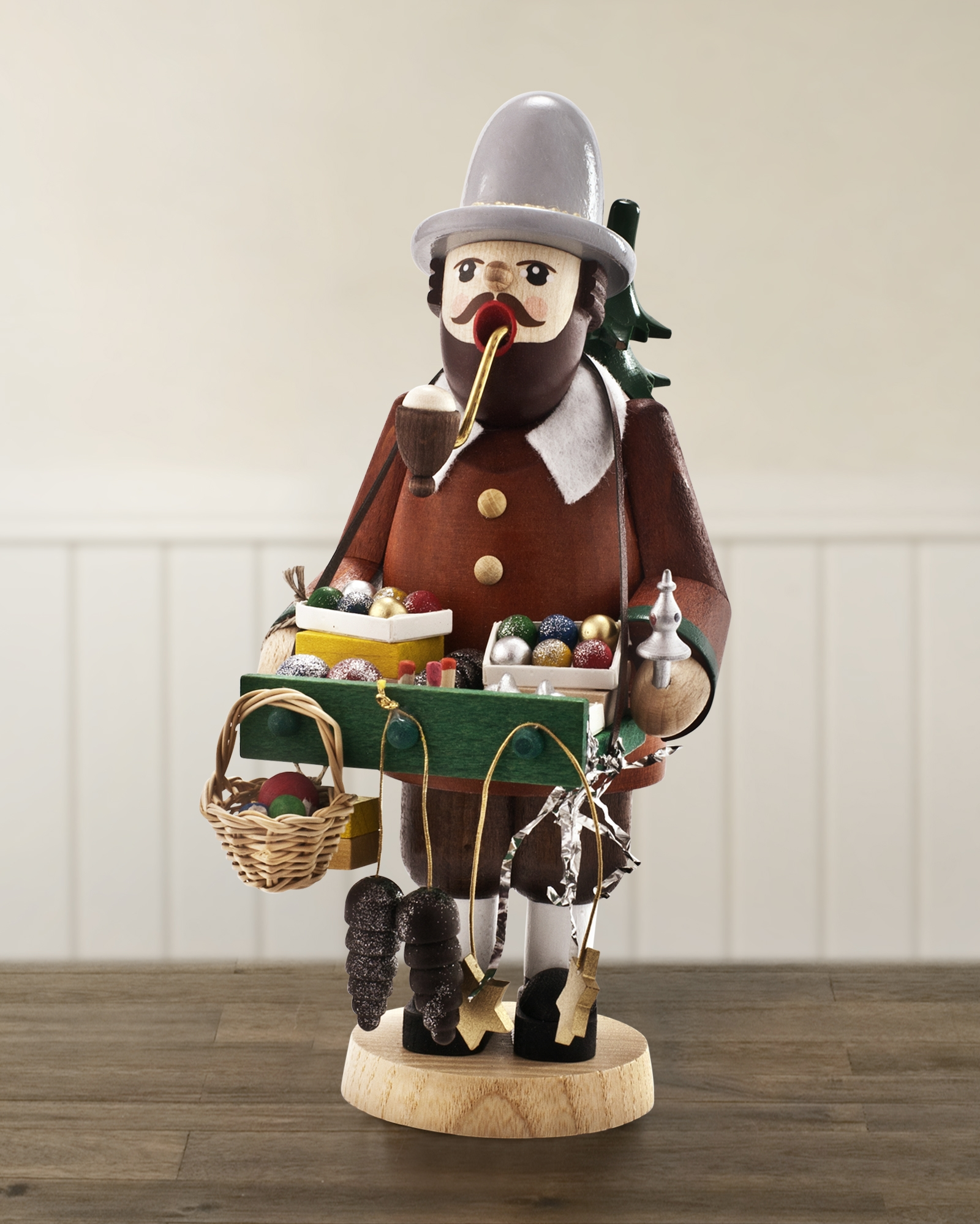 Balsam Hill Handcrafted Items - German Wood Smoker