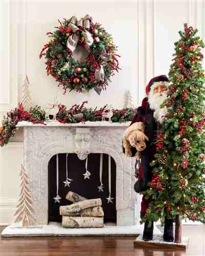 Our Guide To Holiday Home Decor: My Balsam Hill Home: Dagmar's Rustic Holiday Celebration