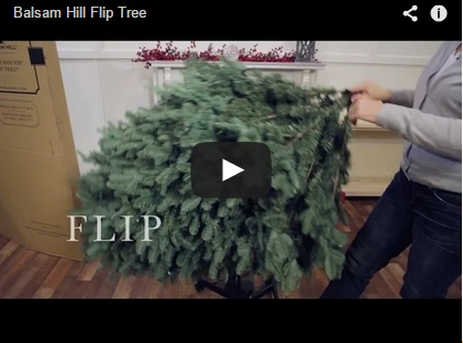 Balsam Hill Flip Tree