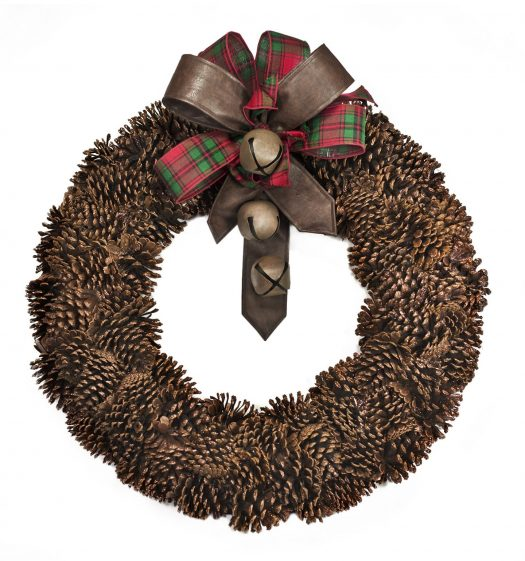 Balsam Hill Pinecone Wreath