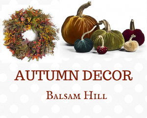 Autumn Decorations from Balsam Hill
