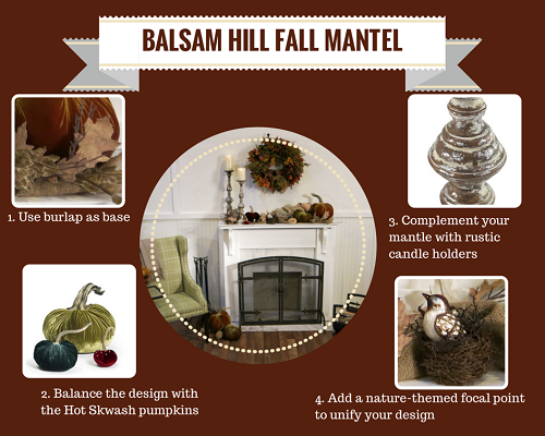How to Decorate your Fireplace Mantel by Balsam Hill